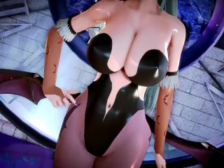 [HONEY SELECT] MORRIGAN SEXY GAMEPLAY