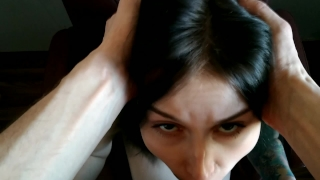 Teen Face Fuck and Gagging  POV, DeepThroat, Cum in Mouth Japanese bang