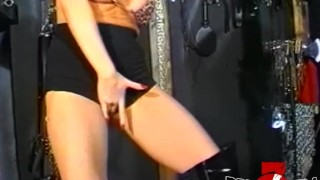 With subs a tight ass domina busty strapon stretching dyke kink boobs