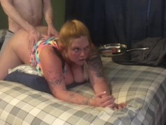 New Whore gets fucked doggy taken on long ride used trash pussy TX/Houston