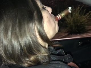 Fat strongest cigar in the car