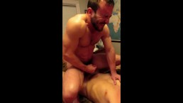 Mike Gaite rides cock rough