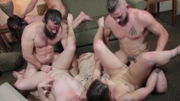 Group Orgasms Orgy