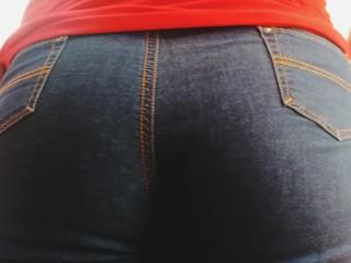 Sexy butt...bouncing