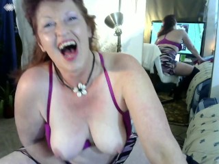 V67 Cougar Hottie DawnSkye in CUNTastic