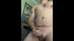 Intense orgasm with huge cumshot