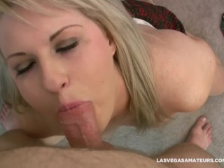 Lace Ivy Sucks His Step Cock From His Friends Trying To Get Into Porn Videos