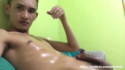 Two Jerk Off and Cumming Scene with Slow Motions