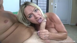 A milf patience when needs facial zero pov cumblastcity