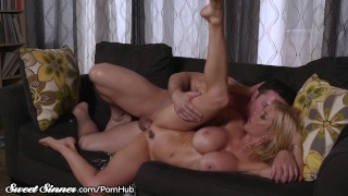 Big Tits MILF Alexis Fawx Sucks Balls & Gets Drilled
