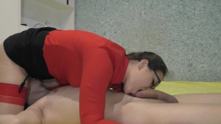 No Hands 69 Blowjob From teacher at home porno
