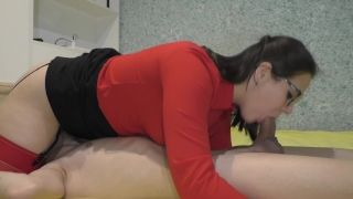 No Hands 69 Blowjob From teacher at home Young masturbate