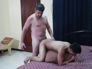 Daddy And Vahn Bareback