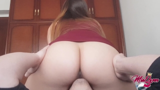 Tasting heaven, Incredible Facesitting & Intense Female Orgasm Fellatio cock