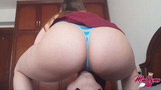Tasting heaven, Incredible Facesitting & Intense Female Orgasm Butt mom