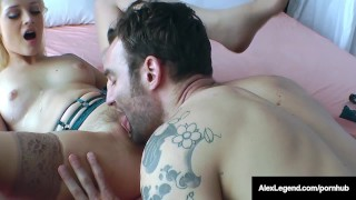 Step Daughter Aubrey Gold Fucks Her Step Dad Alex Legend!