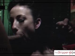 The StripperExperience – Jennifer White sucking five big dicks, big booty