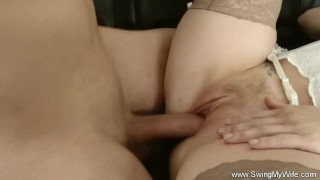 Natural wife tits big swinger mother cuckold