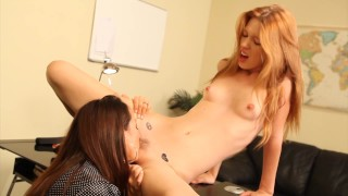 Teen Pepper Kester seduces principal Michelle Lay to get out of trouble