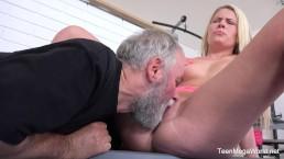 Old-n-Young.com - Martina D - El gimnasio junta a los adictos al sexo