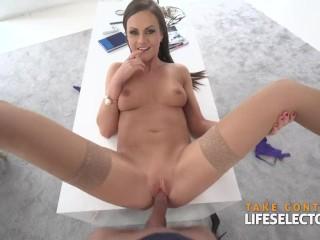 Pussy Busty Tina Kay - Cumm Hungry Milf, Big Dick Big Tits Brunette Hardcore