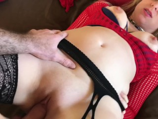 Horny Stepmom wants her stepson to cum for her - Erin Electra