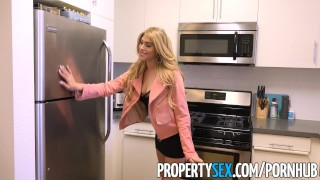 PropertySex - Fine ass real estate agent agrees to fuck for sale  stephanie west sloppy blowjob big ass point of view real estate agent stripping funny booty sexy blowjob fucking pov propertysex hardcore reality butt