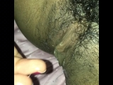 Playing with My Wet Hairy Pussy