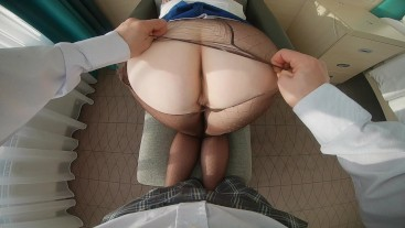 Ginger Secretary Ripped Pantyhose Ass Pounded Hard Fucked for Spilt Coffee