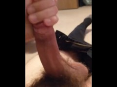 Solo Male Has to Bust a Nut Before Work.