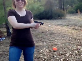 Cute Girl Chloe – Shoot Like a Girl! – Glock 42 ALWAYS Keep it Loaded Video