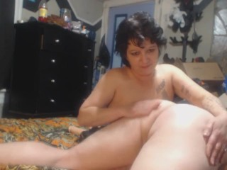 Mellanie Monroe Milf Hunter Spanking His Bare Ass