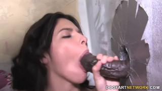 Danica Dillon Interracial Gloryhole  big black cock hd videos bbc blowjob gloryhole pornstar fetish big dick hardcore kink dogfart interracial dogfartnetwork deepthroat glory hole