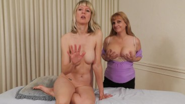 Stepmom and Masseuse JOI