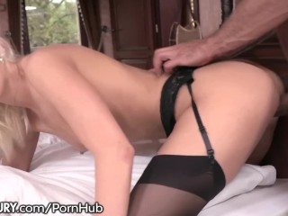 Cheating Cecilia has Lust for Neighbor's Huge Cock!