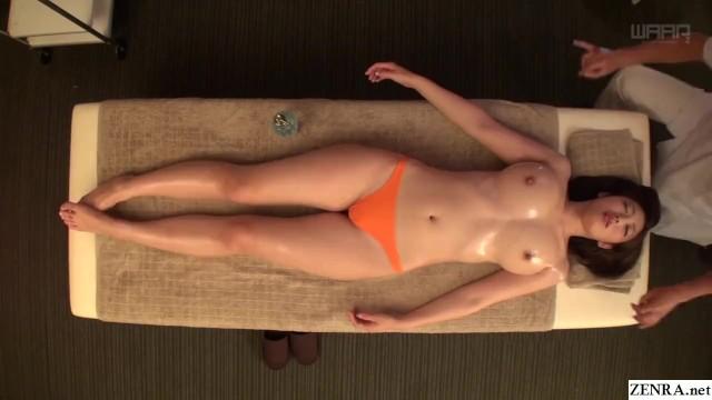 Erotic fantasy spa canada Jav star asahi mizuno cmnf erotic oil massage subtitled