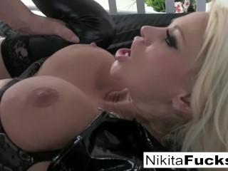 Anal Love Making Fucking, Busty nikitA Fucks a big cock Big Tits Blonde Blowjob Hardcore Pornstar