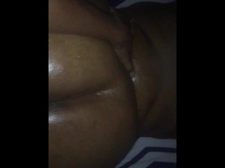 Ebony bbw face fucked and doggystyle