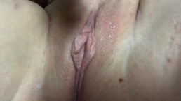 BBC Realistic dildo and finger fucking