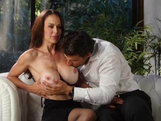 Very Big Tits Mom Fucking, He Cant Resist That Busty Milf Big Tits Brunette Hardcore MILF Pornstar
