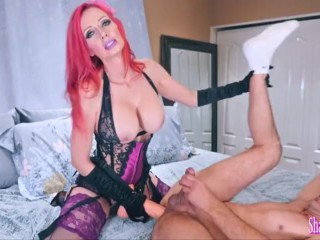 Virgin And The Whore Amazing Milf Shanda Fay Fucks Man In The Ass With 11 Inch