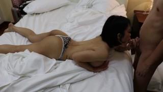 Drunk Asian slut got fucked without condom Bdsm of