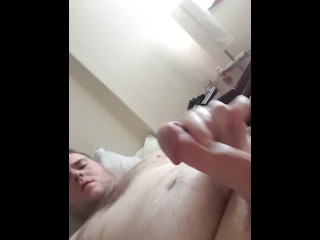 Shooting a huge load, absolute bliss