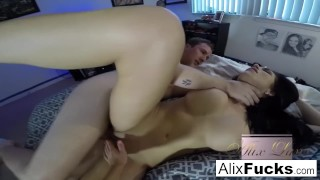 Jaclyn lynx with and amateur hot alix taylor threesome fucking tits