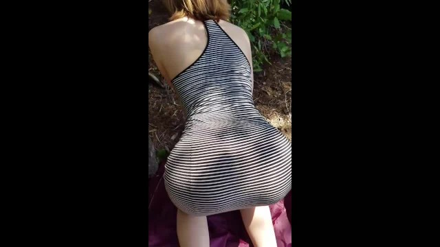 Super Tiny Tight Teen sucks and Fucks in the Woods