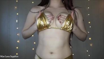JOI Femdom Humiliation with Cum Countdown