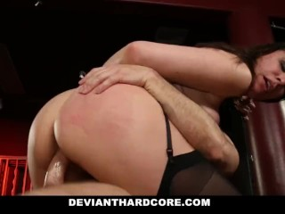 Sterling Hill Mine Fucking, DeviantHardcore- Submissive Milf DanA Dearmod Handcuffed and Dominated B