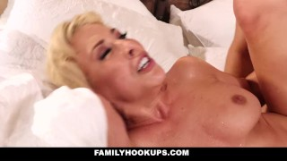 Her stepson fucks annoying hot familyhookups stepmom blonde orgasm wife