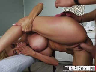 Mother in Law's Massage with Alexis Fawx & Justin Hunt