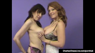 Charlee Chase Watches Stephanie Mars Get Rammed In Hot 3Way! Reality latina
